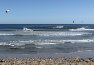 San Carlos is a world famous wind and kite surfing spot.