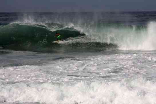 1. Here is another sequence of Carlos on a huge wave.